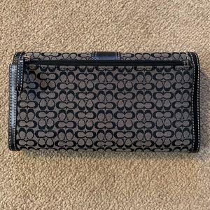 Coach Bags - Coach check book wallet